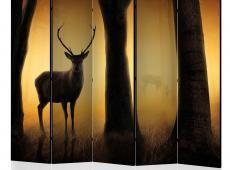 Paraván - Deer in his natural habitat II [Room Dividers]